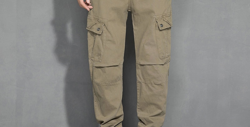 High Quality Khaki Casual Pants Men Military Joggers Camouflage Cargo Pants