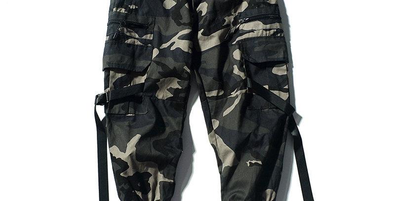 Men Cargo Pants Street Fashion Male Hip Hop Pencil Pants Men's Sweatpants