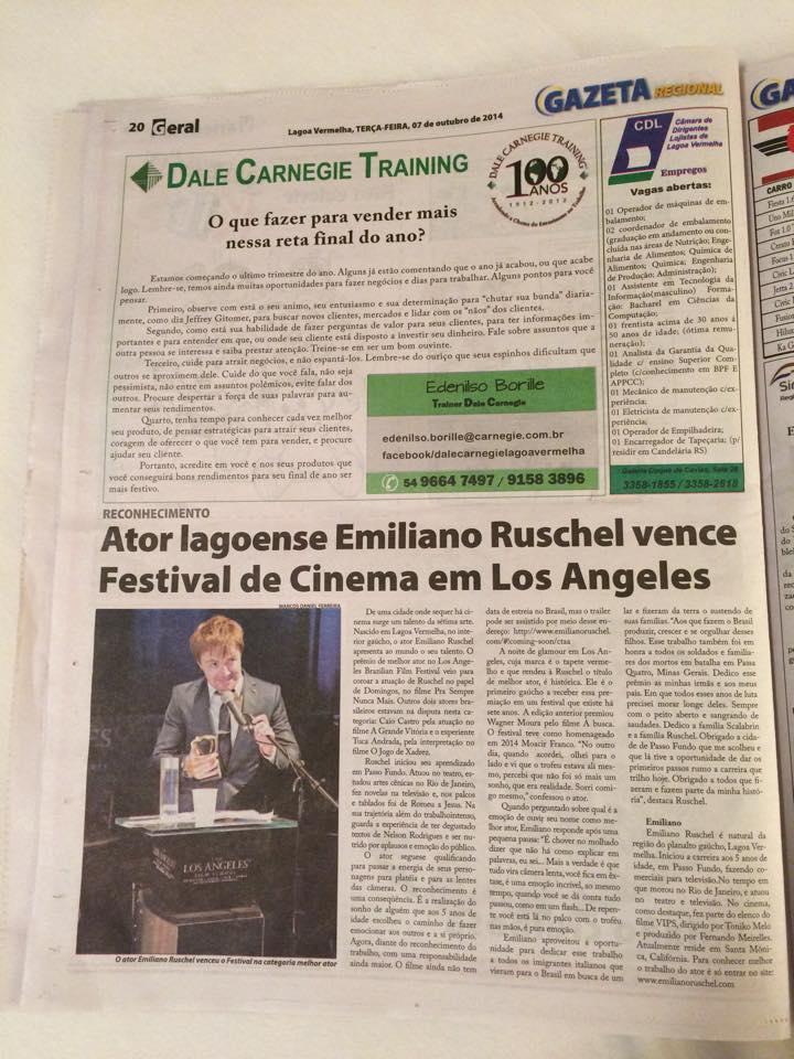 Jornal Gazeta Lagoa Vermelha