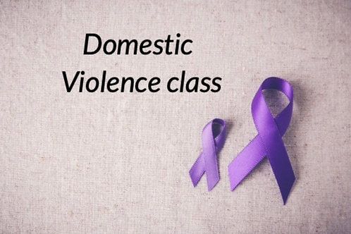 1 Domestic Violence Session