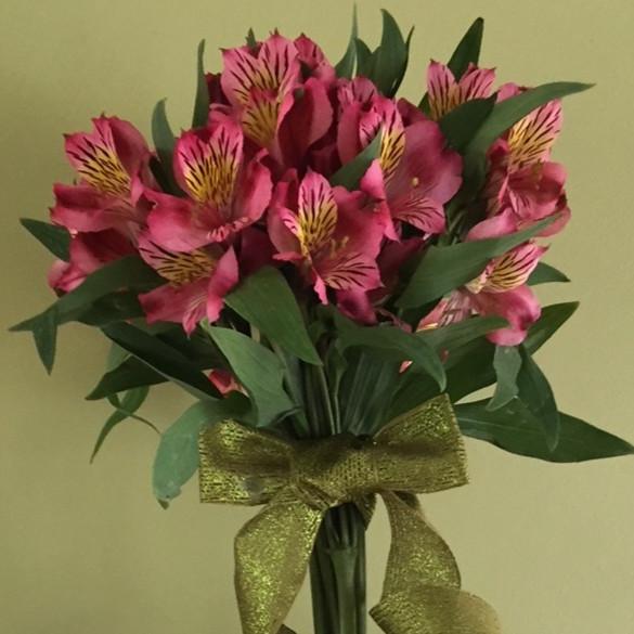 Peruvian Lily Topiary