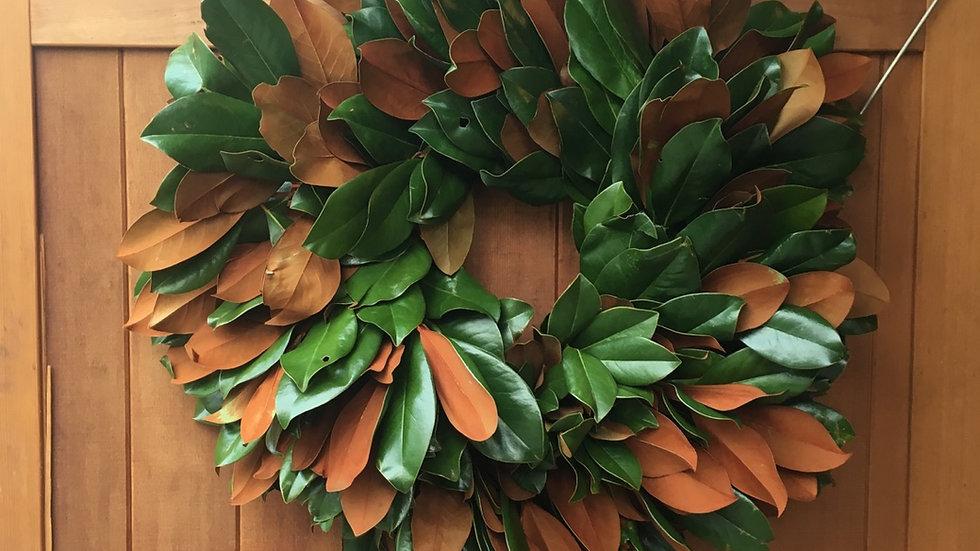 Isabella Magnolia Wreath