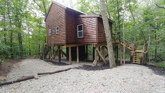 rear of treehouse