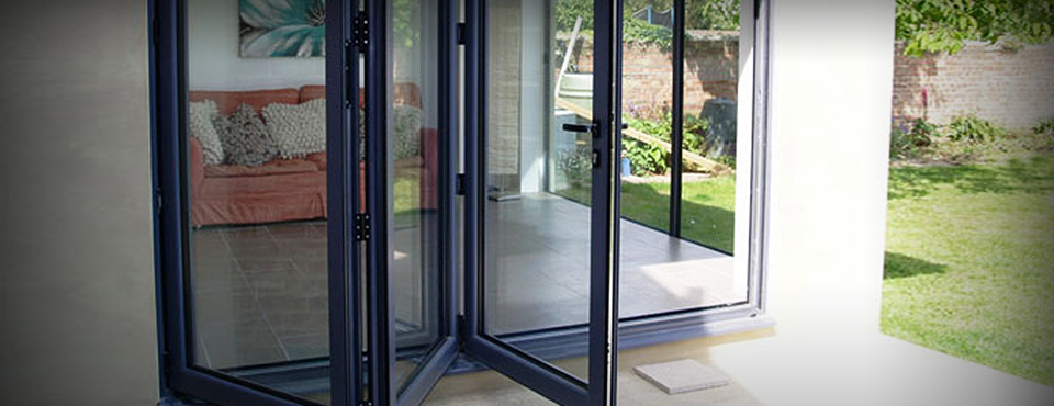 Aluminium Stacker Doors