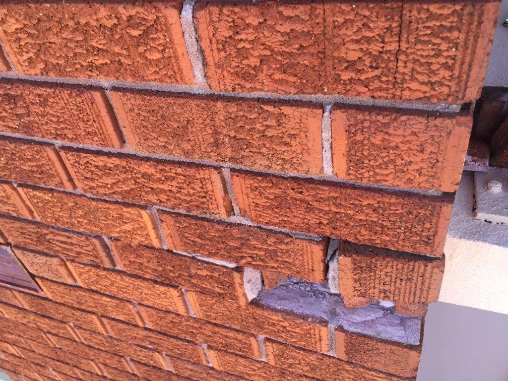 Cracked or Missing Bricks