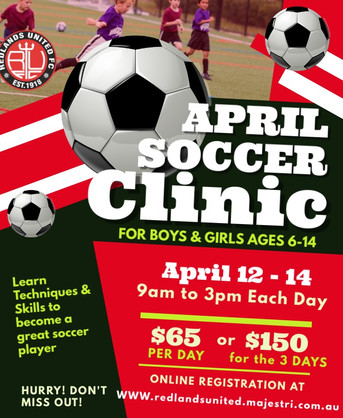 April School Holiday Clinic