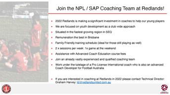 Coaching Opportunities