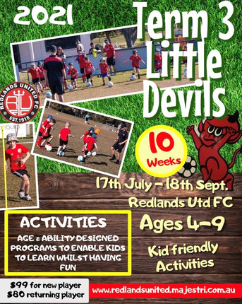 Term 3 Little Devils to Start this Saturday!