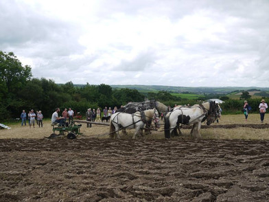 Hitch In Farm Ploughing Demonstration Wi
