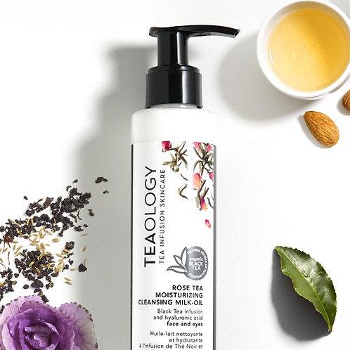 Rose Tea Moisturizing Cleansing Milk-oil