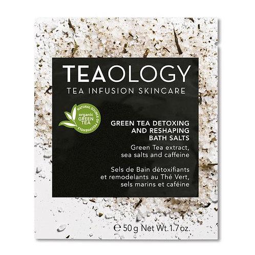 Green Tea Detoxing And Reshaping Bath Salt