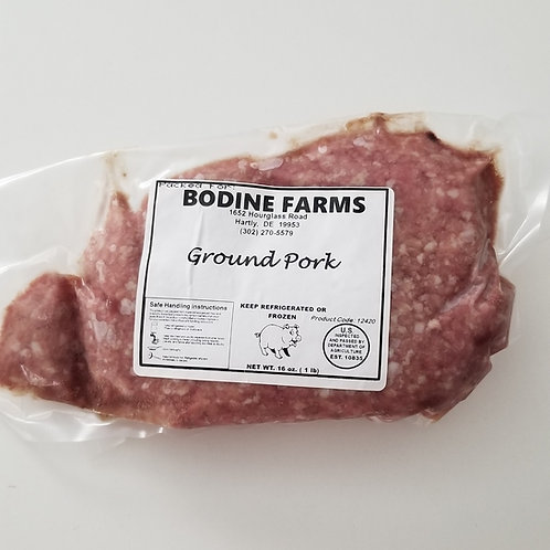 Ground Pork (/lb)