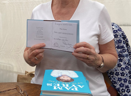 Wild for Words meets Pam Ayres