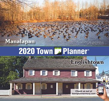 Manalapan-Englishtown Town Planner Calendar 2020