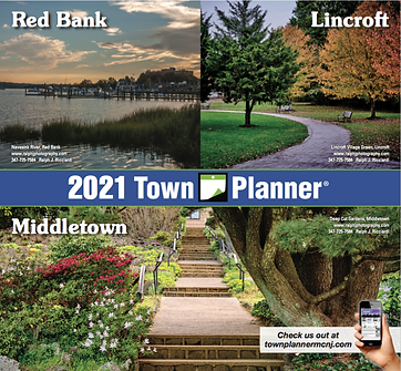 2021 Town Planner - RED BANK _ LINCROFT