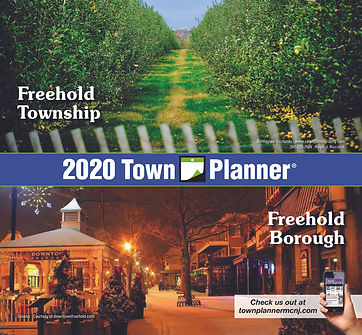NJ_Freehold-Township-Freehold-Borough_Town Planner Calendar 2020