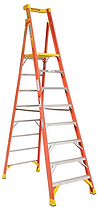 Werner Ladders in stock at Von Rohr Equipment.