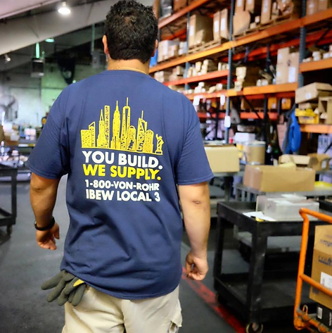 YOU BUILD. WE SUPPLY.