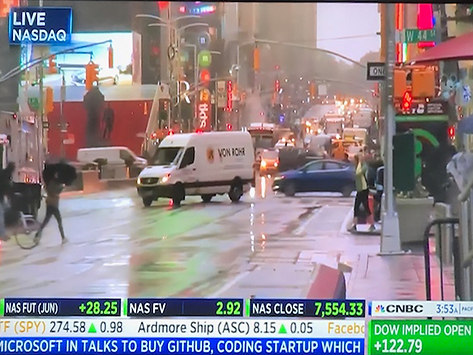 SPOTTED ON CNBC