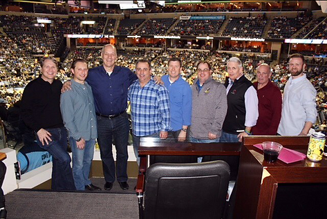 the von Rohr crew enjoyed chatting all about PPE with the Radians Team at a Grizzlies Game.