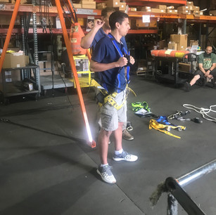 Werner is passionate about ladder and fall protection safety. Our safety professionals are conducting in-person and virtual safety trainings.