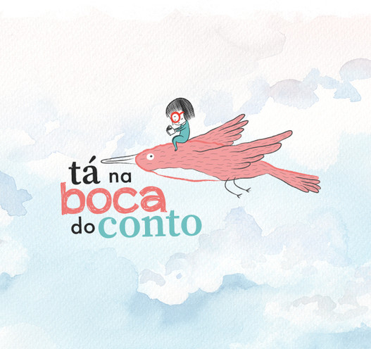 Logomarca: Tá na Boca do Conto