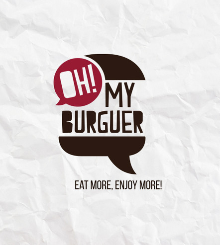 Logomarca: Oh! My Burguer