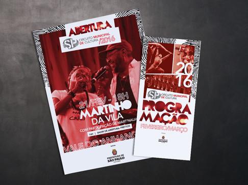 Flyer para evento: Circuito Municipal de Cultura
