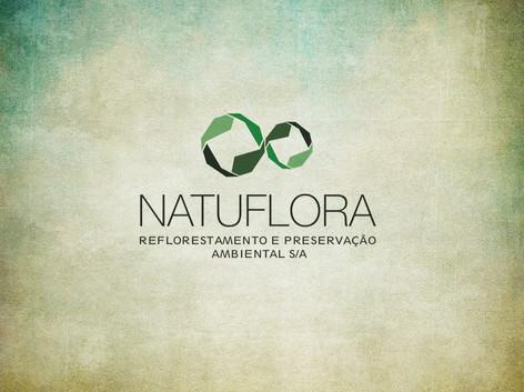 Logomarca: Natuflora