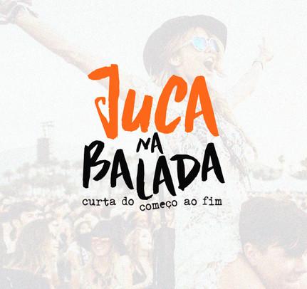Logotipo: Juca na Balada