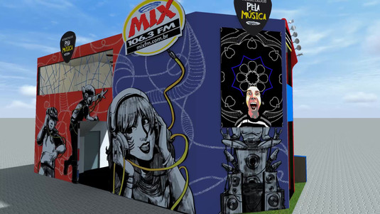 Stand Mix FM - Rock in Rio