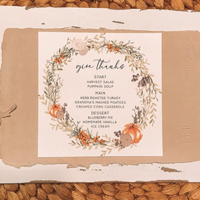 GIVE THANKS WITH PAPER