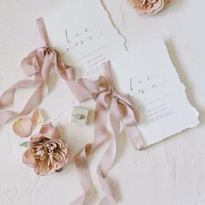 Soft & Romantic Wedding Invitations