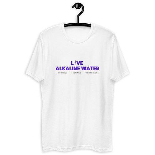 Live Alkaline Label Short Sleeve T-shirt