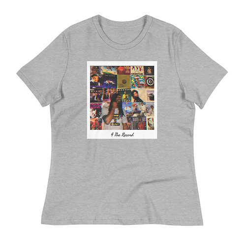 4 The Record Women's Relaxed T-Shirt