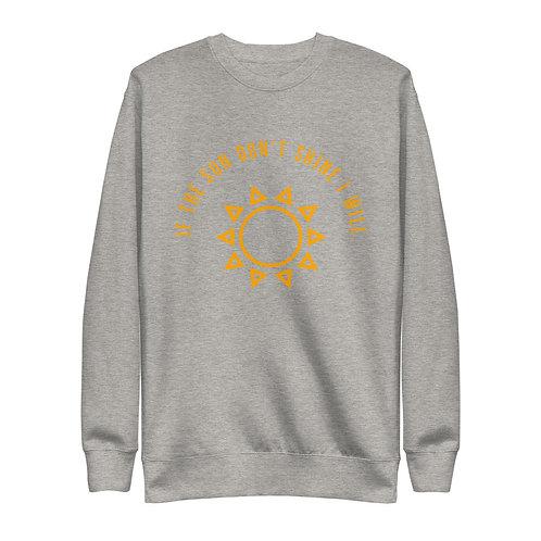 SunShine Curve Unisex Fleece Pullover