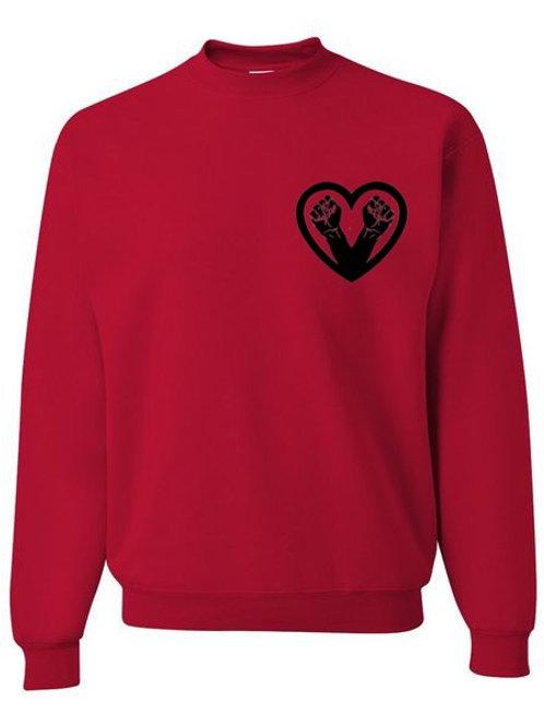 Black Fist Sweatshirt
