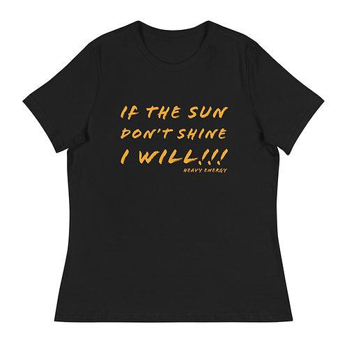 Women's SunShine Mantra Relaxed T-Shirt