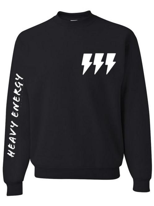 Heavy Energy Thunderbolt Sweatshirt