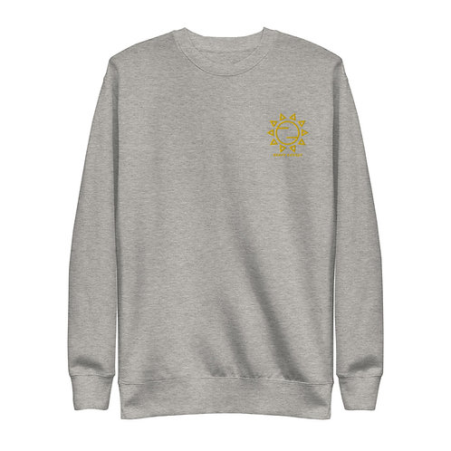 Sunshine Embroidered Unisex Fleece Pullover