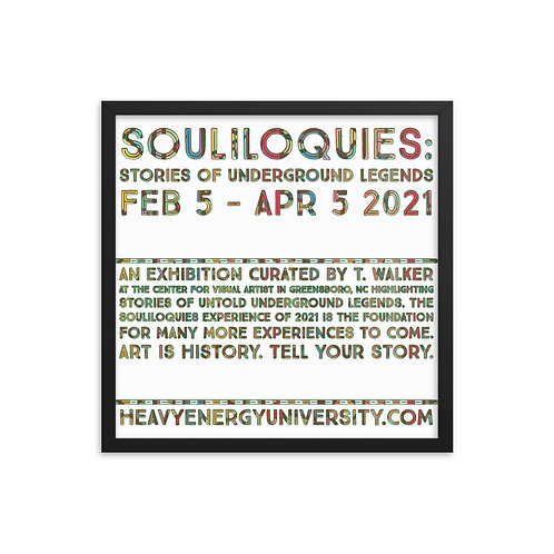 SOULiloquies Framed poster