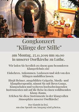 """Gongkonzert_""""Klänge_der_Stille""""_am_"""