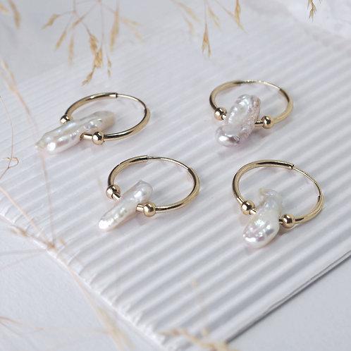 Créole perle irrégulière