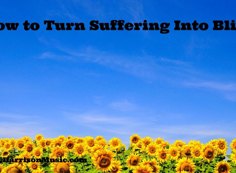 How to Turn Suffering into Bliss: Event Slides