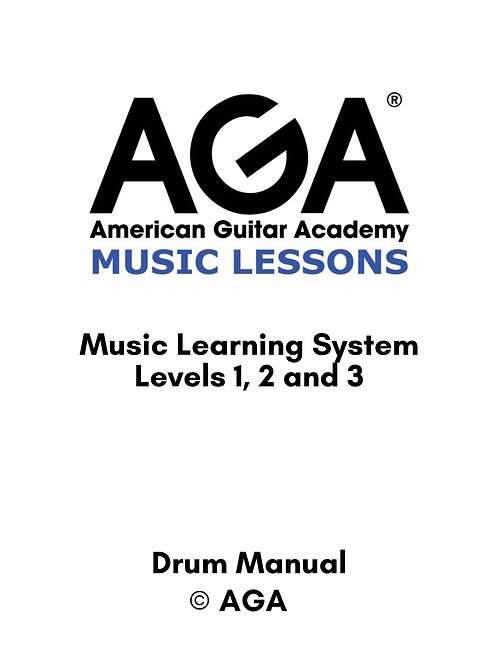 AGA Drum Manual