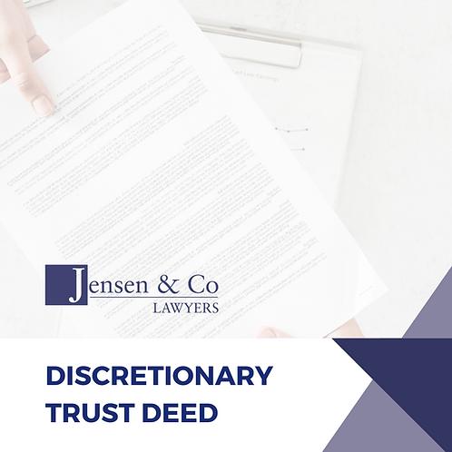 Discretionary Trust Deed