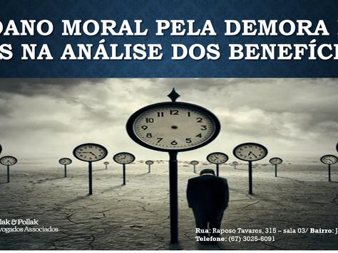 O DANO MORAL OCASIONADO PELA DEMORA DO INSS NA ANÁLISE DOS BENEFÍCIOS