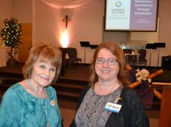 Joyce and Deborah i