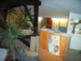 Ausstellung für oekologische Baustoffe