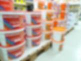 Dispersionsfarben Wandfarben Deckenweiß Fassadenfarben